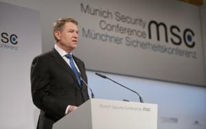 Iohannis, la sedinta solemna dedicata NATO: Guvernarea PSD e un risc pentru tara