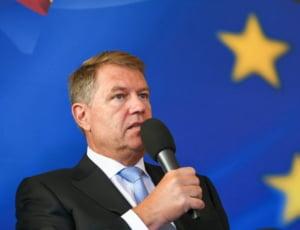 Iohannis acuza coalitia PSD-ALDE de scaderea increderii romanilor in UE