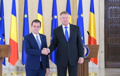 Iohannis l-a desemnat oficial pe Ludovic Orban premier: Anticipatele sunt o solutie foarte buna, dar nu acum