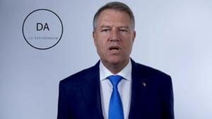 Iohannis lanseaza un clip de promovare a referendumului: Hotii si coruptii stau la puscarie, nu in fruntea statului