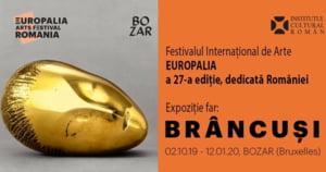 Iohannis participa marti, la Bruxelles, la deschiderea expozitiei dedicate lui Brancusi in cadrul festivalului Europalia 2019
