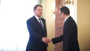 Iohannis se intalneste azi cu Grindeanu la Cotroceni pentru a discuta bugetul