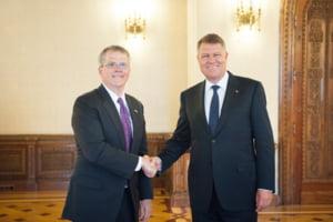 Iohannis vrea mai multe investitii americane in Romania