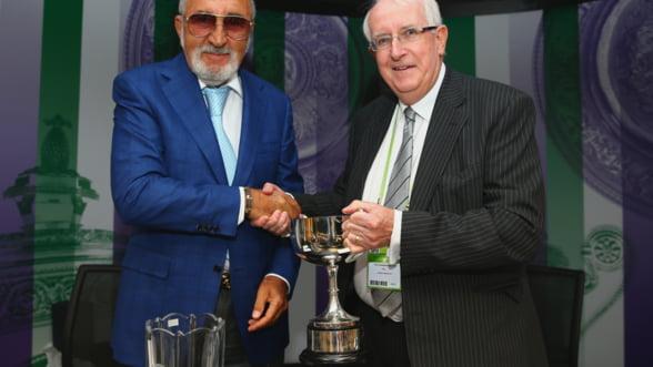 Ion Tiriac a fost premiat la Wimbledon