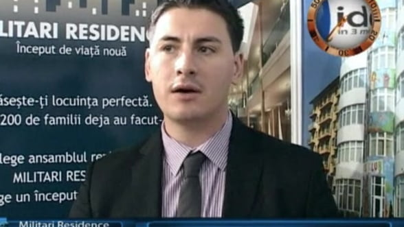 Ionut Tudorie, director marketing Militari Residence