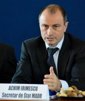 Irimescu (MADR): Suntem in urma cu procesul de scriere a PNDR