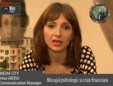 Irina Grosu, communication manager Media City