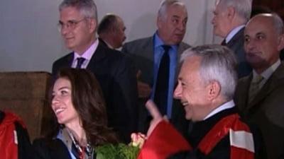 Afacerile din familia Isarescu: Fiica guvernatorului BNR, studii mari, profituri mici