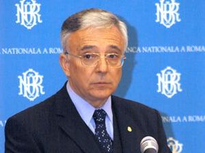 Isarescu: Problemele bancilor din piata monetara nu necesita facilitati speciale din partea BNR