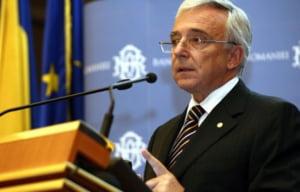 Isarescu: Va urma o perioada cu intrari mai mari de capital