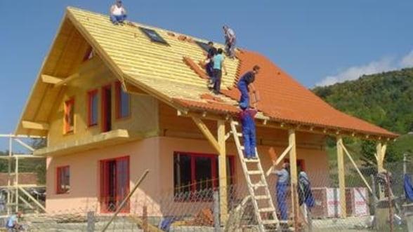 Isi revine sectorul constructiilor? Romania, pe locul II in UE