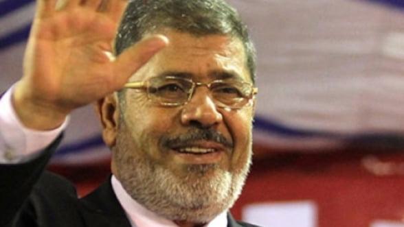 Islamistul Mohamed Morsi a fost investit in functia de presedinte al Egiptului
