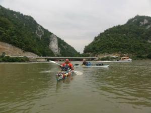 Italianul care a strabatut Dunarea intr-o canoe - Mesaj catre romani