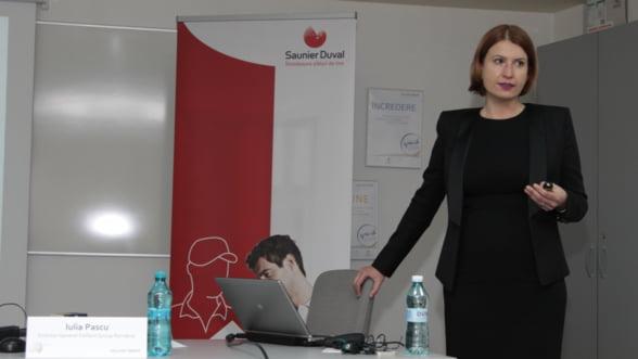 Iulia Pascu, Vaillant Group Romania: Managerul roman ce respecta traditii de la 1874
