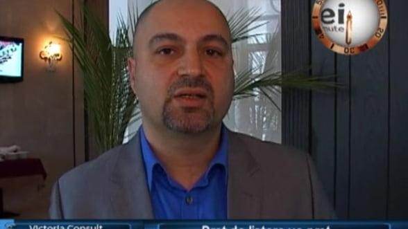 Iulian Niculae, broker imobiliar Victoria Consult
