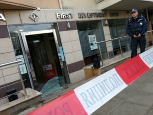 Jaf ca-n filme intr-o banca din Sofia