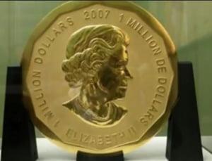 Jaf la un muzeu din Berlin: A fost furata cea mai mare medalie din lume. E facuta din 100 de kg de aur