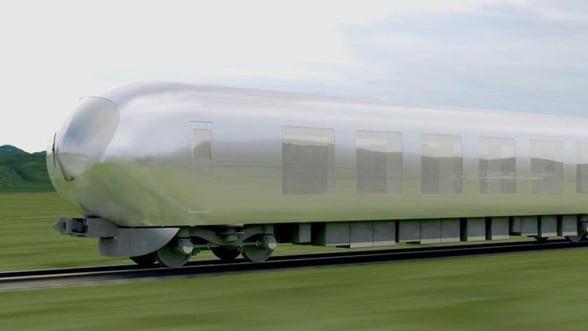 Japonezii lucreaza la un tren de mare viteza invizibil, care sa mearga neobservat cu peste 200 km la ora