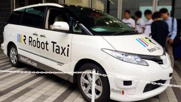 Japonezii se dau peste cap pentru Olimpiada din 2020: Testam taxiurile fara sofer!