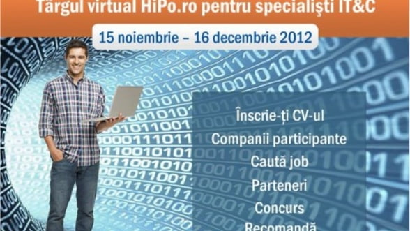 Joburi in sectorul IT&C la Targul Virtual HiPo