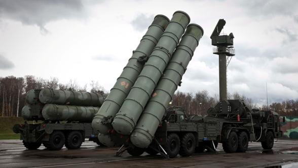 Joc dublu din partea Ankarei. Vrea rachete rusesti in sistemul antiaerian NATO din Turcia