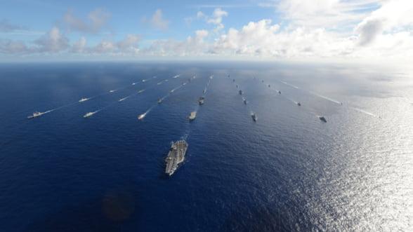 Jocuri de razboi cu 25.000 de militari in Pacific: Americanii i-au invitat si pe chinezi, dar mai mult sa priveasca