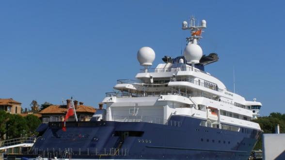 Jocurile Olimpice 2012 au atras cele mai luxoase iahturi in docurile Londrei