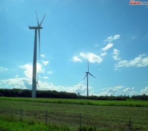 Jumatate din energia produsa duminica in Romania este din surse regenerabile