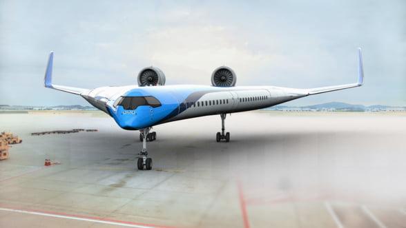 KLM si-a propus sa creeze avionul viitorului: Propulsat electric si mai aerodinamic