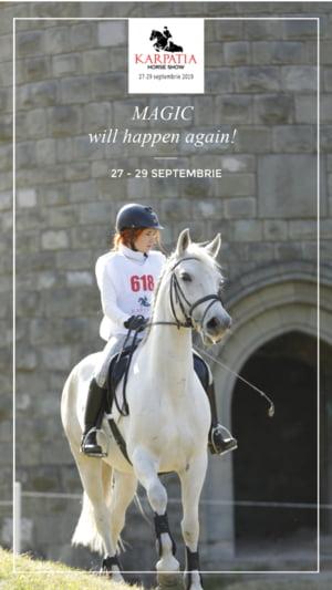 Karpatia Horse Show deschide drumul catre Jocurile Olimpice de la Tokyo 2020