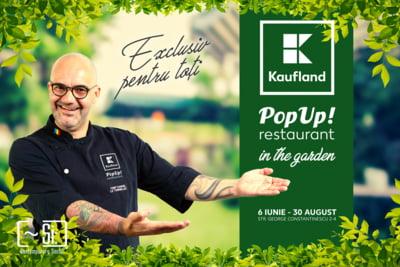 Kaufland relanseaza conceptul de Pop-up Restaurant in aer liber