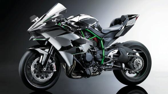 Kawasaki Ninja H2R, cea mai puternica motocicleta din lume