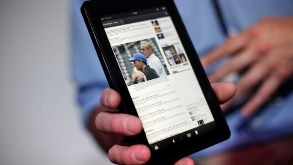 Kindle Fire ar putea dauna profitului Amazon