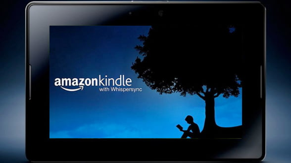 Kindle Fire primeste o noua actualizare de software
