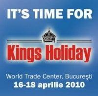 Kings Holiday, singurul targ de turism exclusivist, incepe vineri
