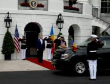 Klaus Iohannis a fost primit la Casa Alba de catre Donald Trump