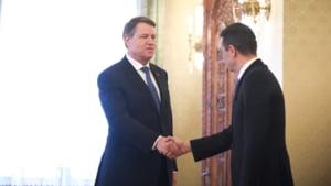 Klaus Iohannis l-a chemat pe Sorin Grindeanu la Cotroceni