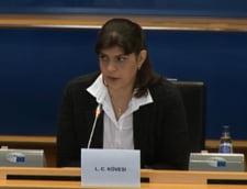 Kovesi cere europarlamentarilor un buget mai mare: Parchetul European va deschide 2.000 de anchete noi in primul an de activitate