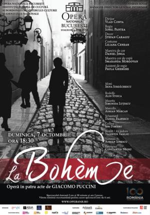 La Boheme, de Giacomo Puccini, pe scena Operei Nationale Bucuresti