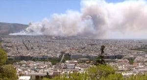 La un pas de colaps financiar, Grecia mai are o problema: Risc ridicat de incendii