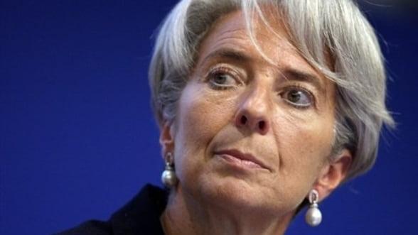 Lagarde: Reforma sectorului bancar, ingreunata de lobby-ul agresiv al industriei financiare