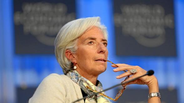 Lagarde avertizeaza: S-a pierdut momentul reluarii cresterii economice. Suntem in alerta!