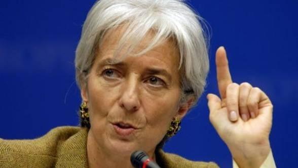 Lagarde cere UE sa sprijine direct bancile cu probleme financiare