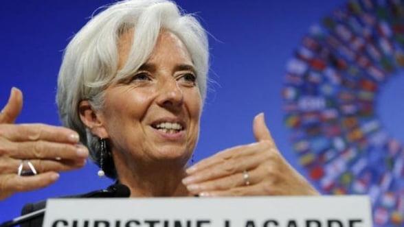 Lagarde cere zonei euro sa creasca fondul de urgenta