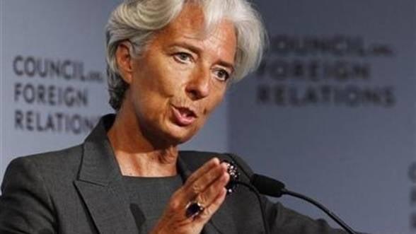 Lagarde se arata incantata de progresele semnificative ale Greciei si Italiei