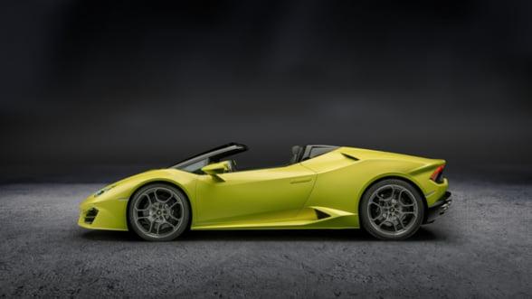 Lamborghini Huracan Spyder tocmai a devenit si mai cool. Ce spui de editia RWD?