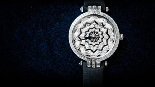 Lasa-te hipnotizat de cel mai nou ceas Harry Winston