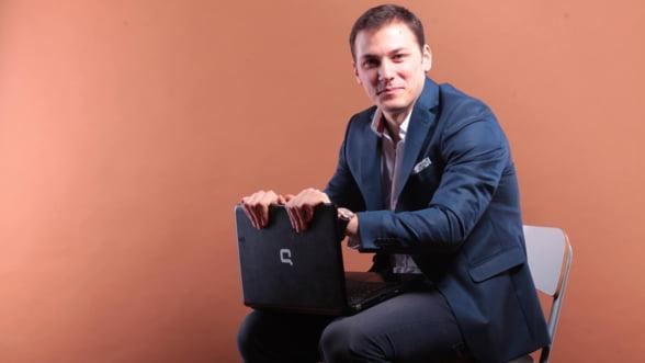 Laurentiu Balasa, antreprenor la 23 de ani: Businessul e un fel de religie aplicata