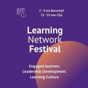 Learning Network Festival, evenimentul care aduce la Bucuresti tendintele din 2020 in instruirea si dezvoltarea angajatilor