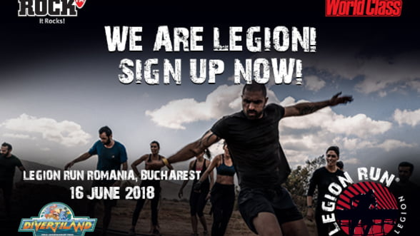 Legion Run, evenimentul international care iti schimba perspectiva, acum in Romania